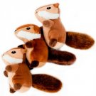 Zippy Burrows Chipmunk Refill for Interactive Squeaky Hide & Seek Puzzle Dog Toy