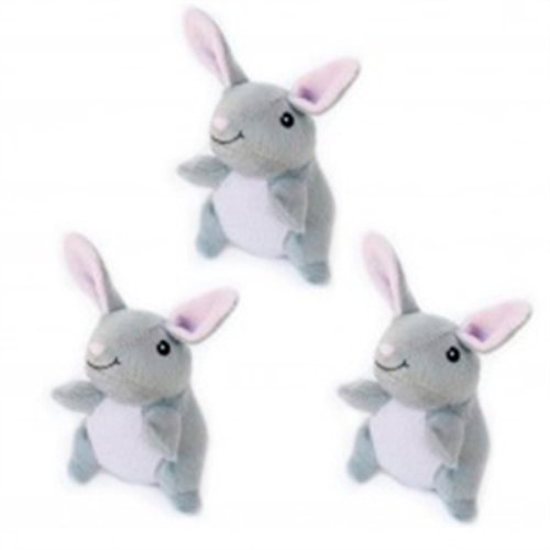 Zippy Burrows Bunny Refill for Interactive Squeaky Hide & Seek Puzzle Dog Toy