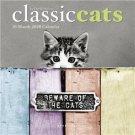 "CLASSIC CATS by David McEnery 2020 Mini CALENDAR Photograph Art 7"" X 7"" New!"