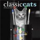 "CLASSIC CATS by David McEnery 16 Month 2020 WALL CALENDAR 12"" x 12"" New!"