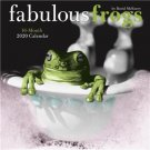 "FABULOUS FROGS by David McEnery 16 Month 2020 WALL CALENDAR ART 12"" x 12"" New!"