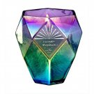 Crystal Magic Candle - Iridescent Ombre Violet - Lavender Moonbeam Scent