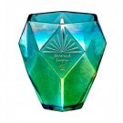 Crystal Magic Candle - Iridescent Ombre Blue - Mermaid Lagoon Scent