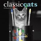 "CLASSIC CATS by David McEnery 2021 Mini CALENDAR Photograph Art 7"" X 7"" New!"