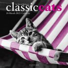 """CLASSIC CATS by David McEnery 16 Month 2021 WALL CALENDAR 12"""" x 12"""" New!"""