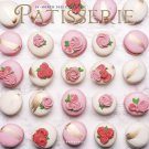 "PATISSERIE 16 Month 2021 WALL CALENDAR Baking Culinary Desserts 12"" x 12"" New!"