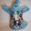 "Fenton Glass ""Let's Boogie Man"" Halloween Ghost Figurine GSE Ltd Ed #1/8 Kim Barley"