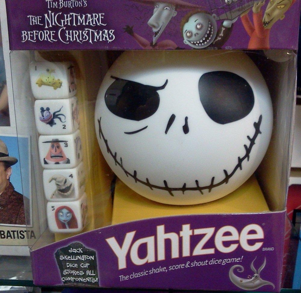 Nightmare Before Christmas Yahtzee ***NEW***