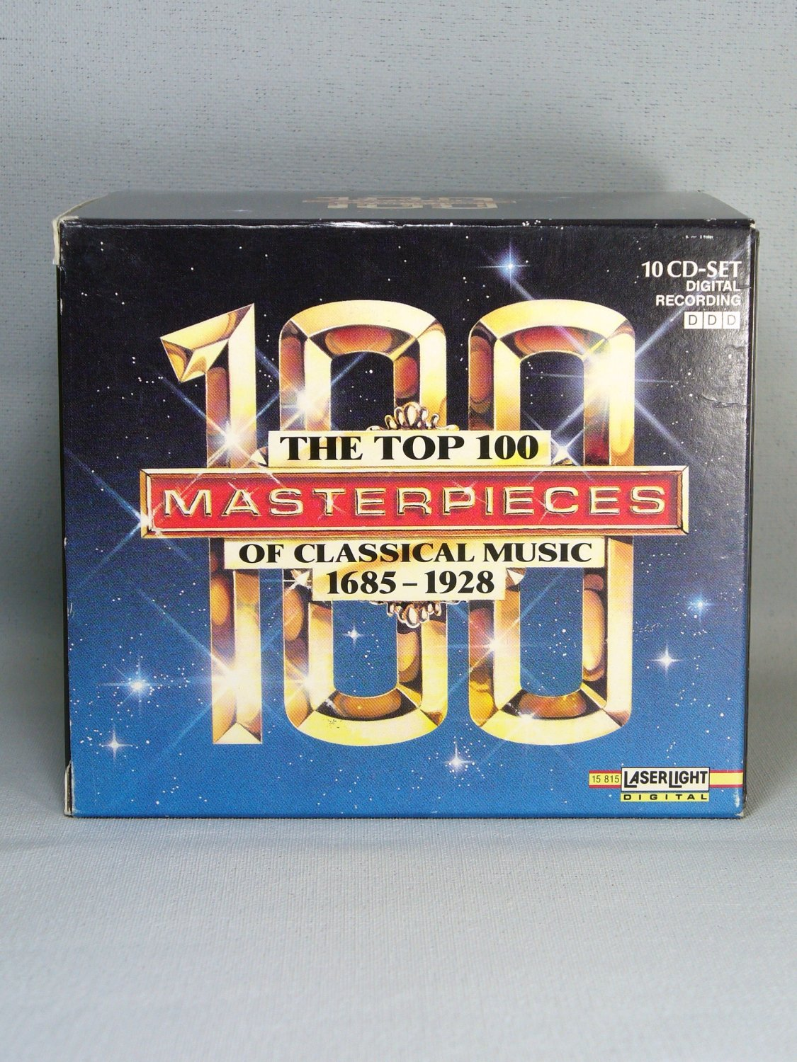 Top 100 Masterpieces Of Classical Music 1685-1928 (10 CD Set
