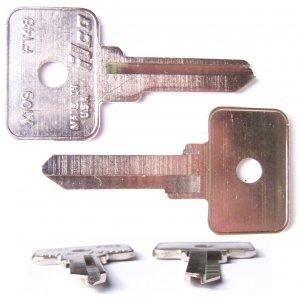 Alfa Romeo key blank 1970-1980, Fiat 1967-1983