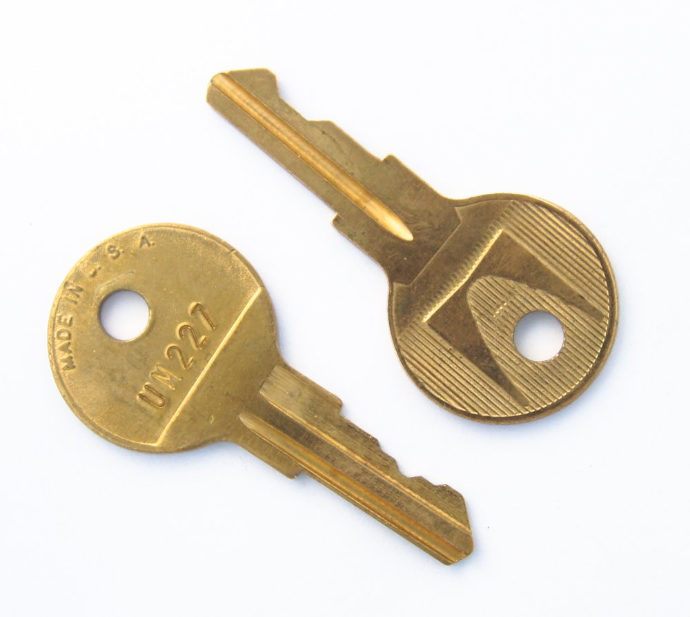 Pre-cut Key To Fit Herman Miller UM And LL Series Locks