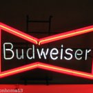 BUDWEISER BOWTIE NEON SIGN LIGHT 1990 ANHEUSER BUSCH BAR VINTAGE BEER DISPLAY