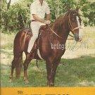 THE MEL TILLIS STORY CONCERT KEEPSAKE BOOK 1974 SIGNED