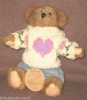 """EDMUND"" BOYDS BEAR BAILEY & FRIENDS COLLECTION RETIRED"