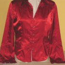 HARLEY DAVIDSON 96442-06VW JULY 2005 RED WOMEN'S LADIES BIKER SIZE LARGE  SHIRT