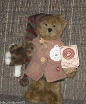 Kirby Elfbeary Boyds Bear Retired T.J.'s BEST DRESSED SERIES #904053