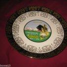 "VINTAGE KANSAS STATE SOUVENIR COLLECTOR PLATE 1861-1961 CENTENNIAL 9 3/8"""
