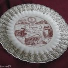 VINTAGE VIRGINIA STATE SOUVENIR COLLECTOR PLATE MOTHER OF PRESIDENTS 10""