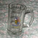 KENTUCKY DERBY 122 CHURCHILL DOWNS MAY 4, 1996 GLASS BEER MUG SOUVENIR