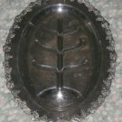 Marlboro Plate Old English Reproduction E P Copper TREE footed PLATTER #957