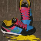 NikeiD Nike iD Women's Shoes Air 6.0 Yellow Blue Green Black Pink 2009 Size 8