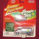 JOHNNY LIGHTNING 1975 DODGE D-100 DIE CAST BOOGIE VAN SAVE THE PLANET NIP 2002