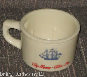 OLD SPICE SHULTON SHIP RECOVERY SALEM 1794 SHAVING MUG CUP