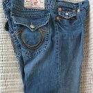 Sold MENS TRUE RELIGION RAINBOW BILLY 24-858BRBTE DISTRESSED JEANS SIZE 38 X 33