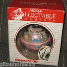 Sold NOMA ORNAMOTION BABY'S FIRST CHRISTMAS GIRL PINK NURSERY SPINS 1ST ORNAMENT +BOX