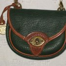 SOLD Dooney Bourke All Weather Leather Mini Cavalry Belt Body Bag AWL Ivy Green