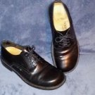 BIRKENSTOCK FOOTPRINTS BLACK SIZE 39 1/2 Medium 255 Lace up Oxford Shoes