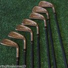 Tommy Armour 845s Silver Scot Iron SET Golf Clubs 2-9 2,3,4,6,7,8,9 RH GRAPHITE