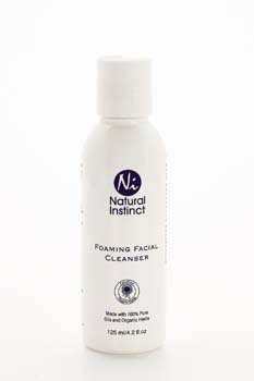 Natural Instinct - Foaming Facial Cleanser 125ml