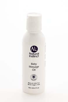 Natural Instinct - Baby Massage Oil 125ml