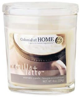 Oval Scented Glass Filled Candle 12.5cmH - Watermelon