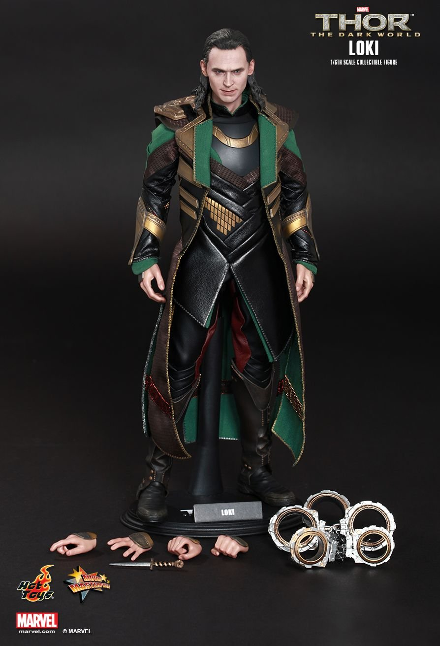 Hot Toys Thor 2 : The Dark World Loki Figure (Normal Edition)(Free Shipping)(Discount)