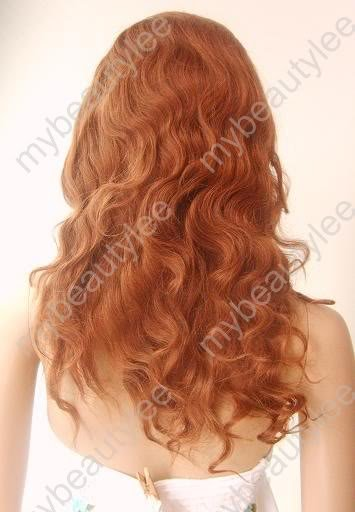 "100%  remy human hair full lace wig 16"" 30# body wave"