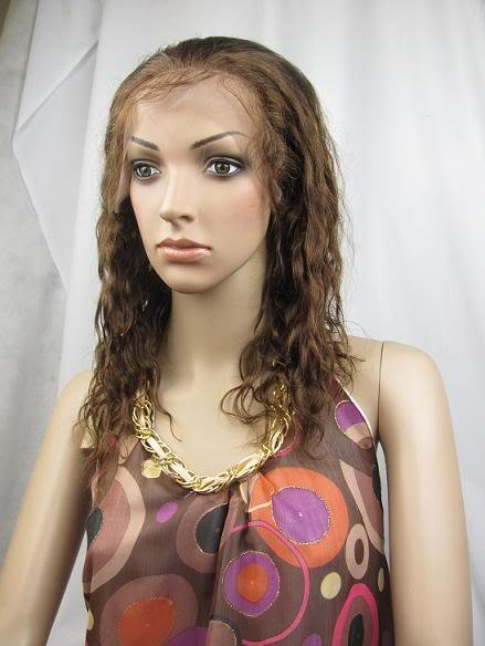full lace wig 100% remy human hair 12inch 4# body wave