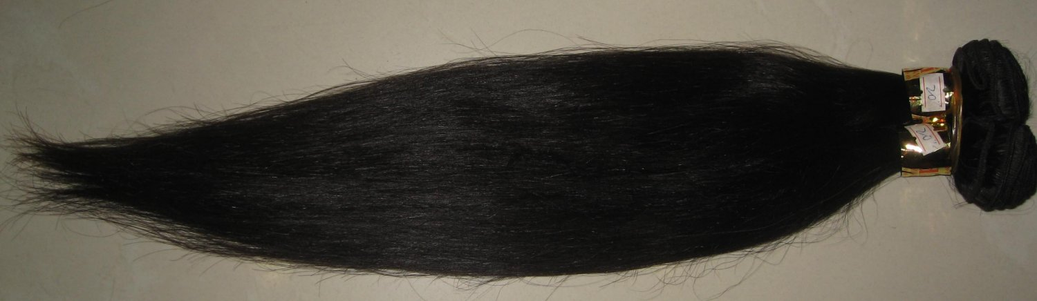 European hair extension hand tied weft straight