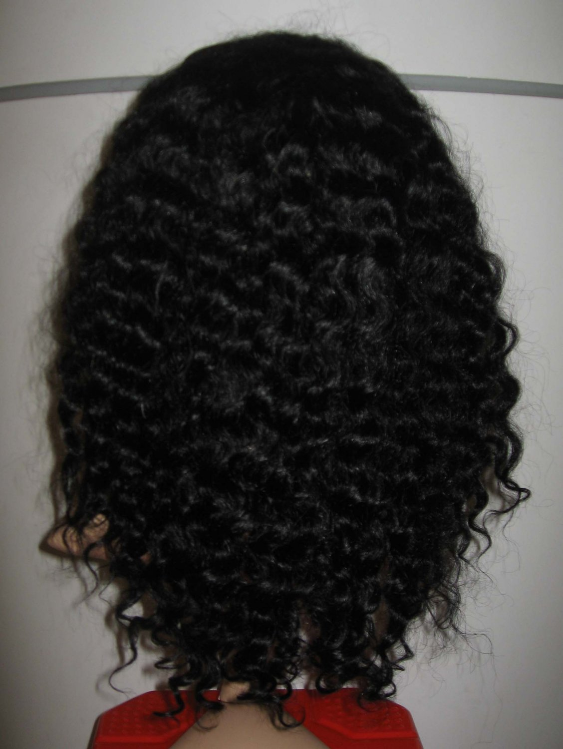 """DEEP WAVE 18"""" LACE FRONT WIG INDIAN REMY HUMAN HAIR"""
