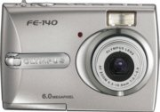 Olympus FE-140 6.0MP Digital Camera with 3x Optical Zoom