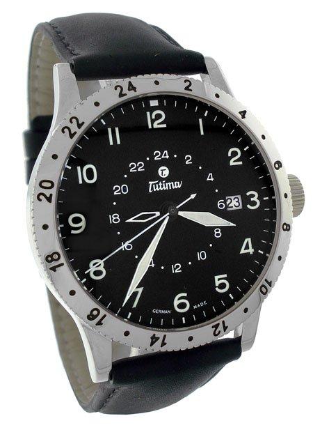 Tutima Pilot Fx 3 Time Zone Men�s Watch 633-01