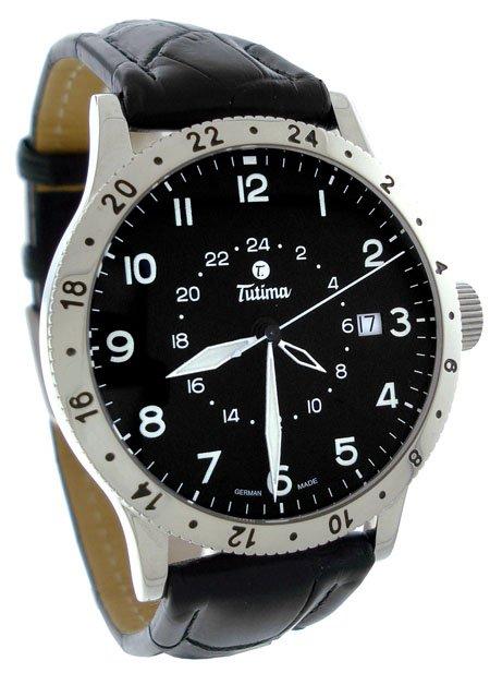 Tutima Pilot Fx 3 Time Zone Men�s Watch 633-05