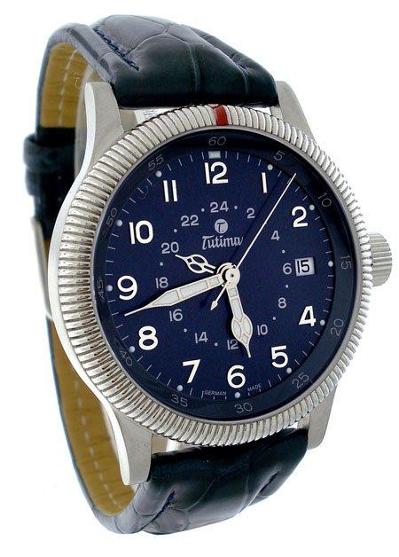 Tutima Flieger GMT & UTC Men�s Watch 635-05