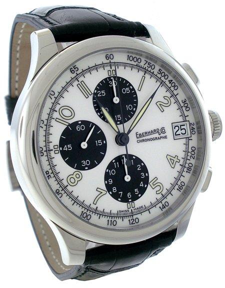 Eberhard Traversetolo Chronograph Men�s Watch 31051CP