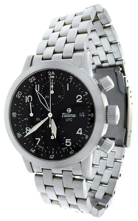 Tutima  FX UTC Chronograph Automatic Men's Watch 778-64