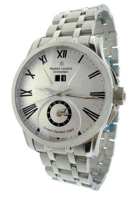 Maurice Lacroix Guichet GMT Mens Watch PT6098-SS002-110