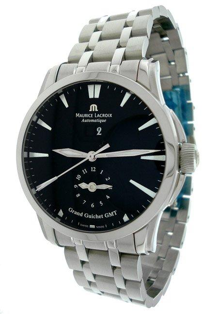 Maurice Lacroix Guichet GMT Mens Watch PT6098-SS002-330
