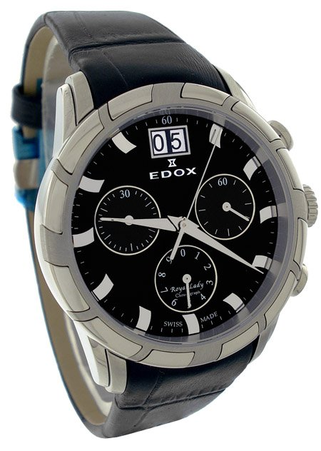 Edox Royal Lady Chronograph Watch 10018 3 NIN
