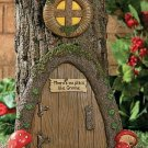 Gnome Door Tree Decor